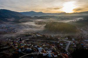 Мъгла над село Ягодина