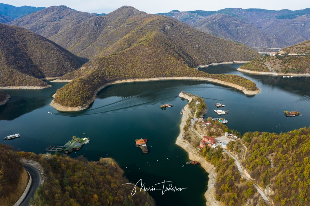 Vacha reservoir shot with DJI Mavic 2 pro