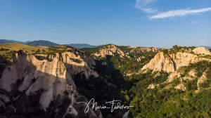 Melnik pyramids - shot with DJI Mavic Air