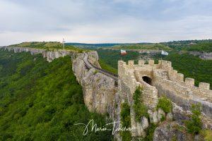 Ovech fortress near town of Probadia - photo with Dji Mavic 2 Pro