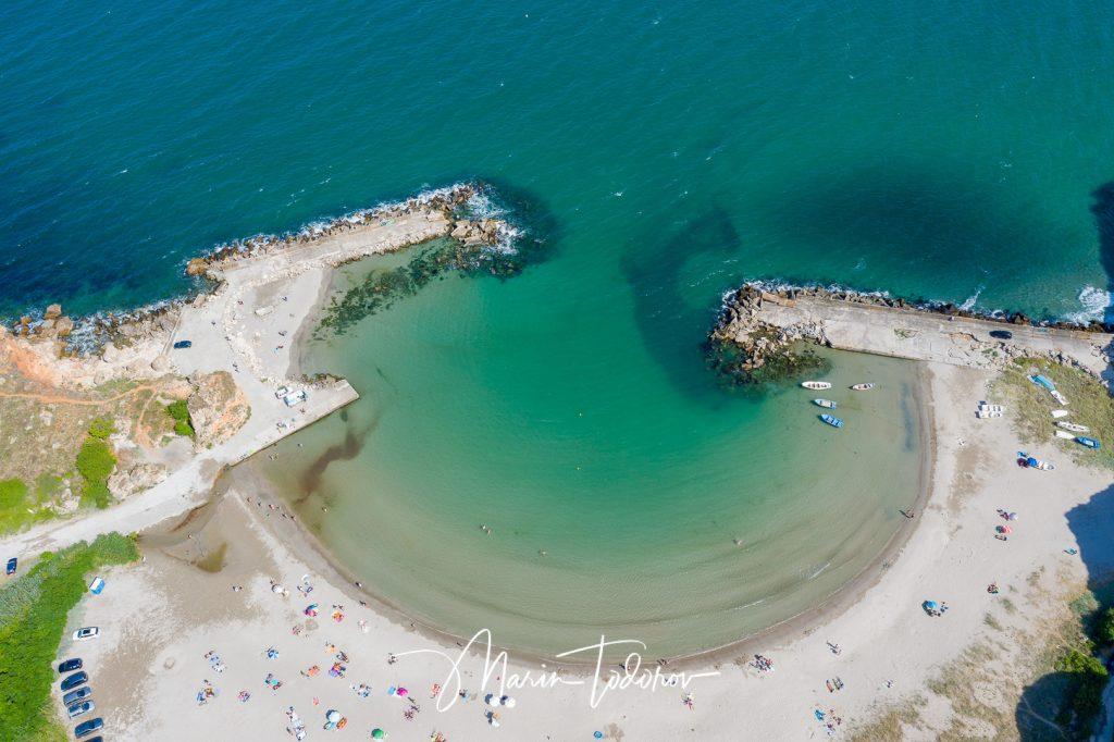 Beach Bolata - Black sea Bulgaria - short with DJI Mavic 2 Pro