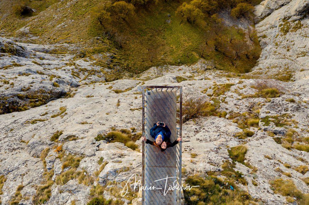 View over Eagle eye panorama near Yagodina Bulgaria - shot with Mavic Pro 2