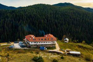 Хотел Мурсал - Ягодина - снимка с дрон