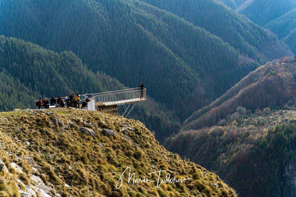 View over Eagle Eye panorama - Yagodina, Bulgaria