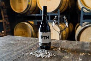 8th - бутилка вино Шато Копса