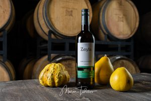 Zeyla - бутилка вино Шато Копса - продуктова фотография