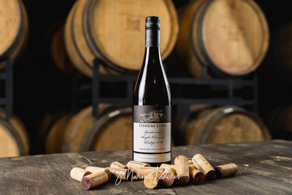 Chateau Copsa - bottle of wine Chateau Copsa - product photography