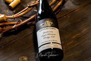 Chateau Copsa wine bottle