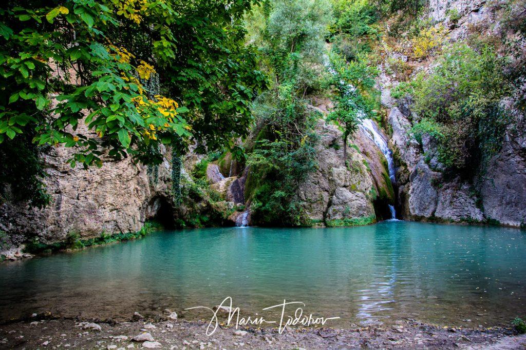 Hotnitsa waterfall also known as Kaya Bonar